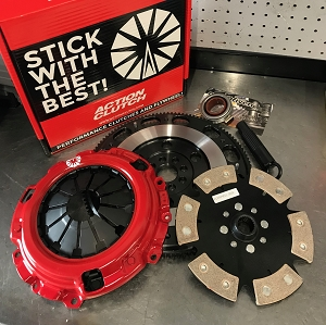 Action Clutch Stage 4 1MS /w FLYWHEEL Honda Civic SI K20Z3 FD  (Metallic Rigid)