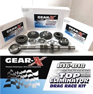 Gear-X Honda B-Series 1st - 4th TOP ELIMINATOR Gear Set B16A B18C