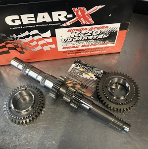Gear-X Honda K-Series 1st - 2nd Straight Cut QUARTER MASTER Gear Set RSX K20A2 Civic SI K20Z3