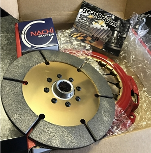 Action Clutch IRONMAN Acura CL J30 Sintered Disc Dual HD Pressure Plate