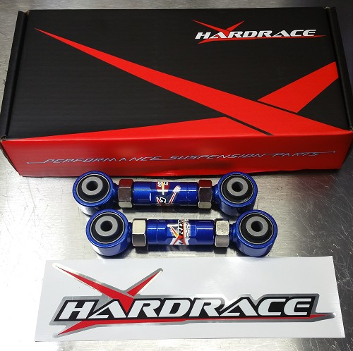 Hardrace Rear Toe Adjuster Kit 88-00 Civic CRX Del Sol Integra 94-01
