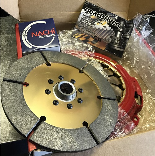 Action Clutch IRONMAN Honda Civic K20Z3 Sintered Disc Dual HD Pressure Plate